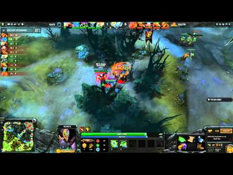 Signature Trust vs Rave The Manila Major 2016 Sea Qualifier Group A Game 1 dota2