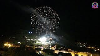 feux d'artifice du 14 juillet 2018 à Sartene en Corse du Sud en direct Live