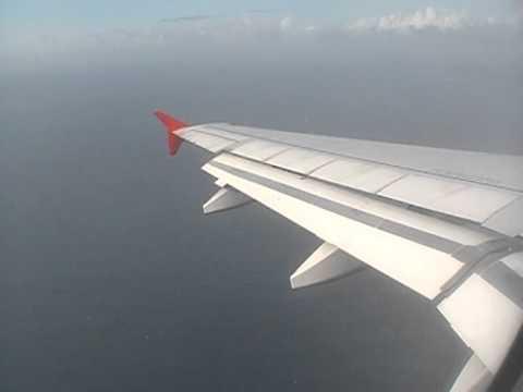 AirAsia A320 Landing Denpasar Bali