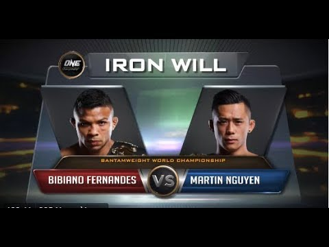 One Championship: Martin Nguyễn vs Bibiano Fernandes- 24 March 2018