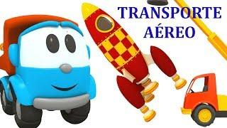 Transporte Aéreo.  Léo o caminhão curioso. Coleçao