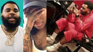 Kevin Gates Peeps Dreka DM's To See What Rapper in it & If She Cheating