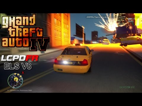 GTA IV - LCPDFR - 1.0C - EPiSODE 75 -  NYPD UNDERCOVER TAXI PATROL