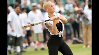 Download Amber Rose Hits A Home Run After Flirting With Kevin Durant At Celebrity Baseball Game 3Gp Mp4