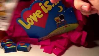 Love is...unpacking 13 bubbles gum! Лав ис распаковка 13 штук!^_^