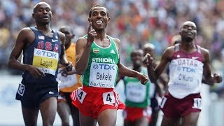 Mo Farah, Bekele, Kipchoge and Lagat at 5000m Berlin 2009 [HD]