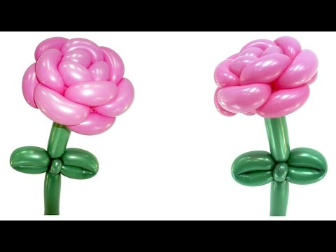 роза из шаров :: VideoLike
