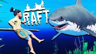Download Lagu HUGE New Raft Update! - SHARK ATTACKS and Raft Building - Raft Gameplay Gratis STAFABAND