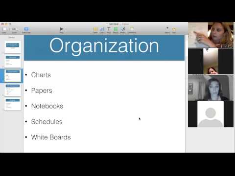 The Importance of Structure, Organization, & Time Management