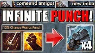 Multiple Walrus PUNCH! Strategy with Swashbuckle + Sleight of Fist | Dota 2 Ability Draft