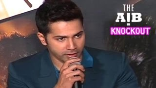 Varun Dhawan's SHOCKING COMMENT on AIB KNOCKOUT CONTROVERSY