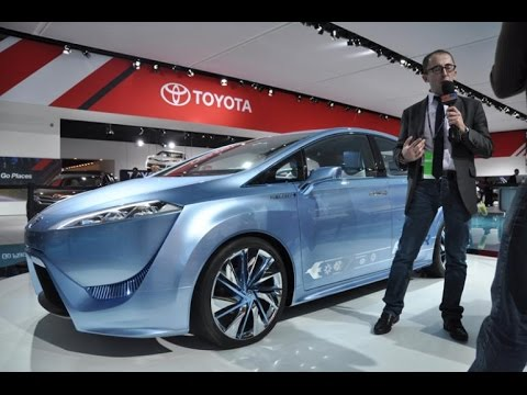 Toyota To Launch Fuel Cell Car Next Month