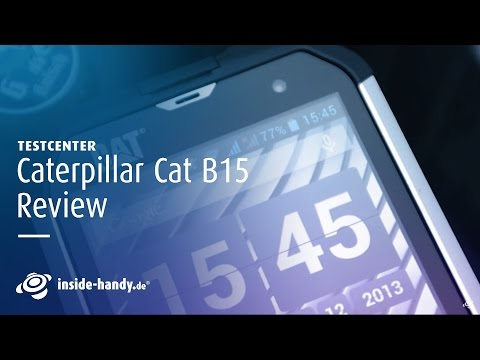 Caterpillar Cat B15 im Test