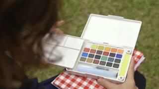 Sakura - Koi Water Colors Pocket Field Sketch Box