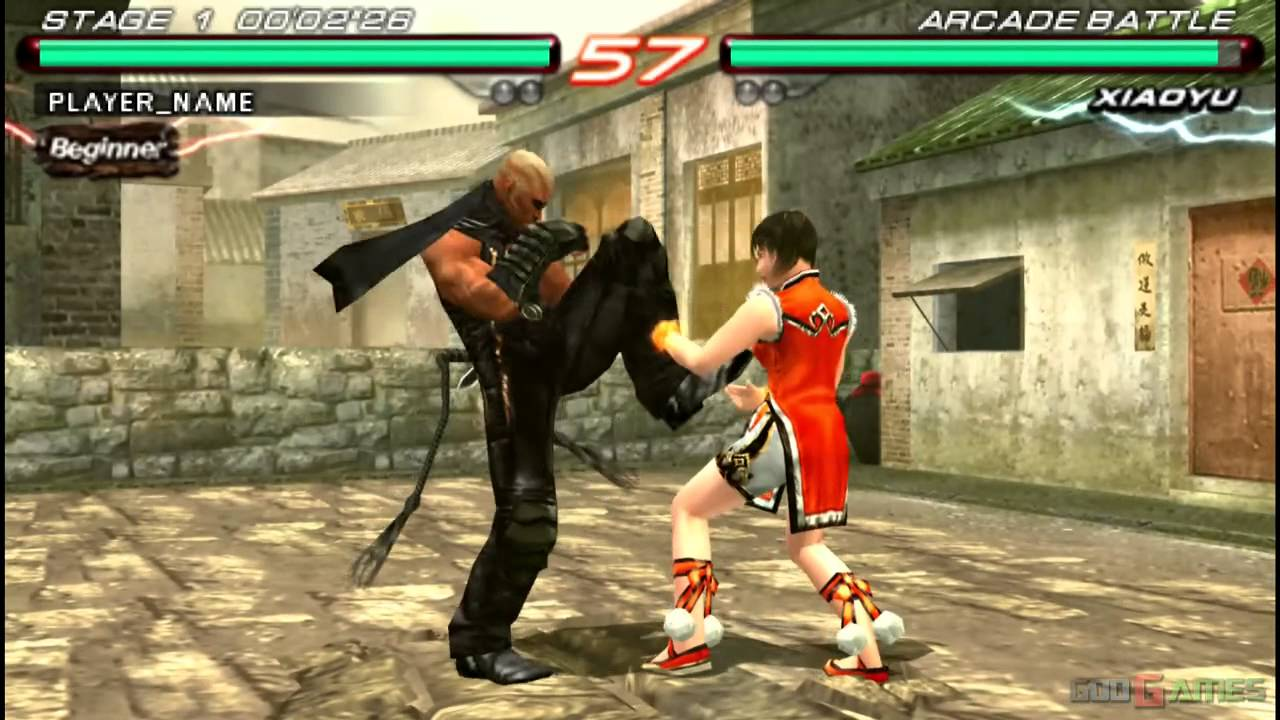 Tekken 6 Gameplay Psp Hd 720p Ppsspp Part 1 Youtube