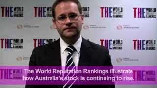 World Reputation Rankings Australia