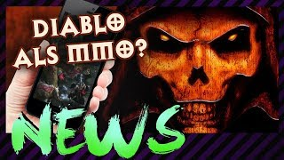 Diablo 4 als MMO? Free 2 Play? Oder doch Mobile!? & Neues zu Red Dead Redemption 2 und Fallout 76!