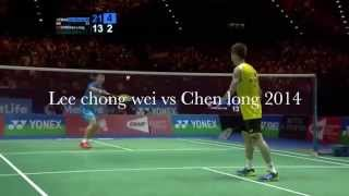 Unbelievable/Funniest badminton rally ever! LEE CHONG WEI