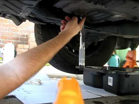 Honda Civic 2001 Auto Transmission Fluid Change.mp4