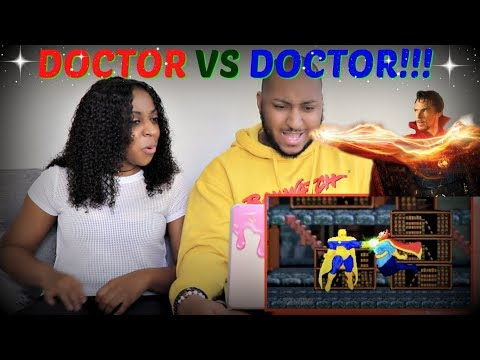 ScrewAttack Doctor Strange VS Doctor Fate (Marvel VS DC) | DEATH BATTLE! REACTION!!!