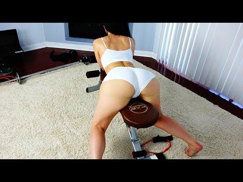 Big Butt Model Sexy Workout Motivation!