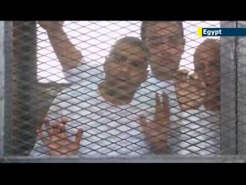 Egypt postpones trial of Al-Jazeera journalists accused of aiding Muslim Brotherhood terrorists