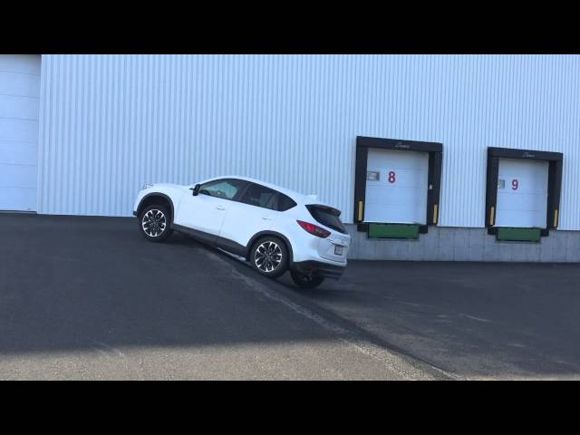 mazda cx-5 Awd diagonal test - YouTube