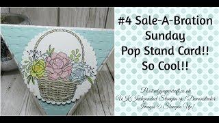 #4 SAB Sunday Pop Stand Card & NEW SAB Products!!