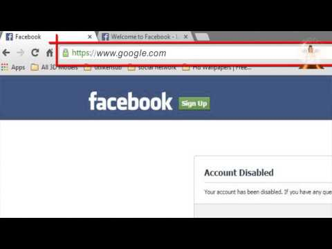 How To Enable Facebook Account After Being Disabled 2014 Khadija Productions