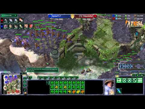 Fly (Z) vs Ball (T) - TESL Season Two Round Robin - StarCraft 2 - G4