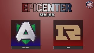 [Dota2] RNG VS Alliance (BO3) - EPICENTER MAJOR [Ligagame]