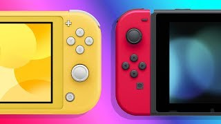 Nintendo Switch Lite vs Nintendo Switch | Which One is Right For You? | Raymond Strazdas