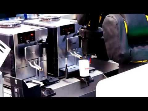 Barista Robot Making Coffee in Europe