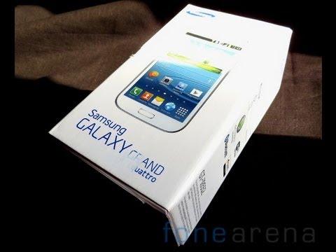 Samsung Quattro Titan Grey/black UNBOXING