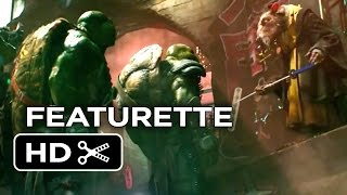 Teenage Mutant Ninja Turtles Featurette - Turtle Power (2014) - Live-Action Ninja Turtle Movie HD
