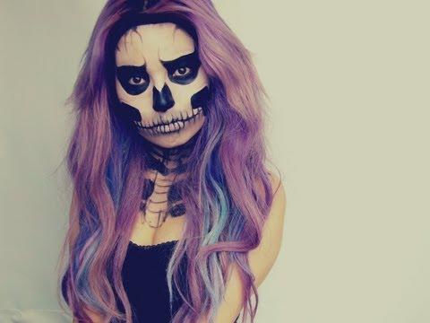 ZOMBIE CALAVERAtutorial de maquillaje para halloween noche de brujas