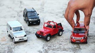 Unboxing Diecast of Mini Mahindra SUVs   XUV 500   Bolero   Thar   TUV 300 and more...