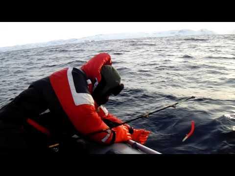 рыбалка у острова кильдин