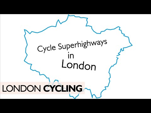 Where Are London's Cycle Superhighways?