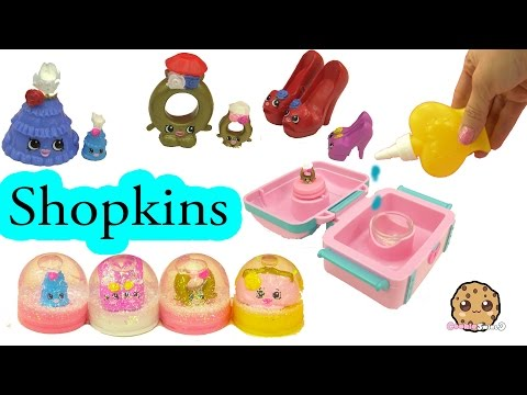 Shopkins Jewelry Pack Glitzi Globes Water Play Snow Dome Maker Playset - Cookieswirlc