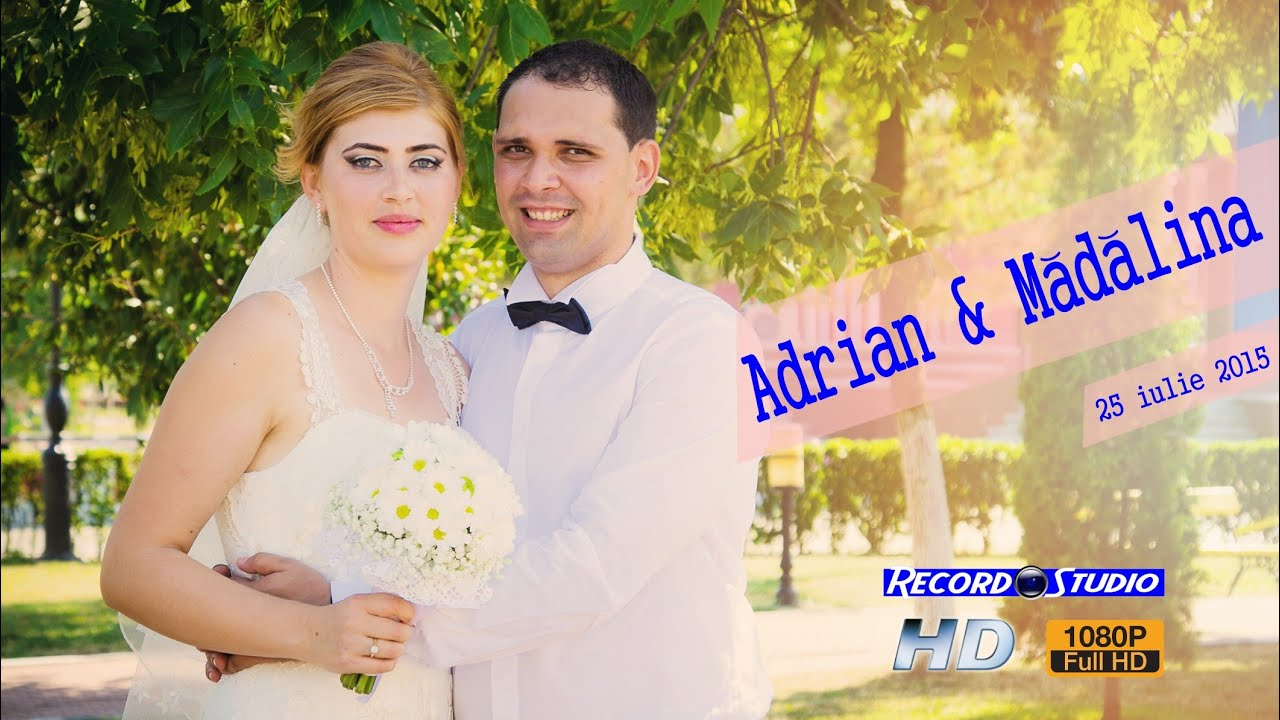 Clip Nunta Adrian & Madalina / Slivilesti / Motru / Murgesti 24, 25-Iulie-2015 [RECORD STUDIO]