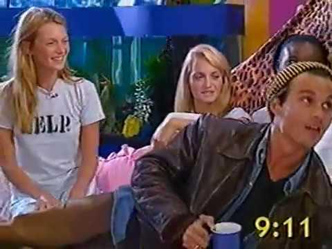 Johnny Depp, Naomi Campbell, Kate Moss interview (Big Breakfast, 1995)