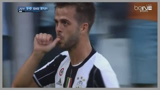 Miralem Pjanic vs Sassuolo (Home) 10/09/2016 | Official Debut for Juventus | English Commentary | HD