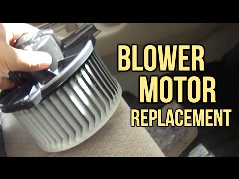 Toyota Corolla 2002  A/C Blower Motor Replacement