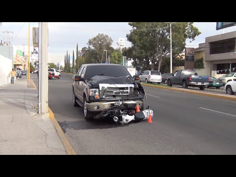 Accidente en Colosio Aguascalientes 31 Enero 2013