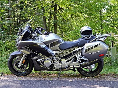 """2013 yamaha fjr1300 northern wisconsin fall colors """"two"""