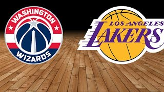NBA Live Stream: Washington Wizards Vs Los Angeles Lakers (Live Reactions & Play By Play)