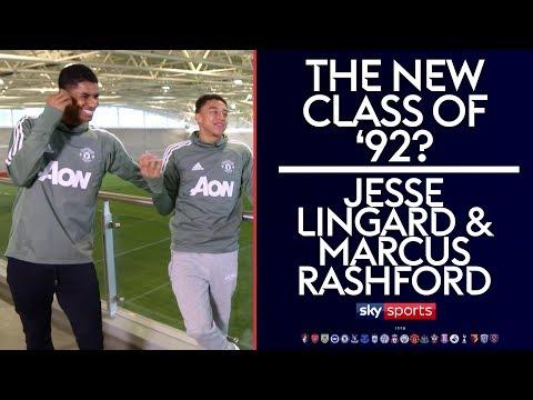 The new Class of 92?   Marcus Rashford & Jesse Lingard