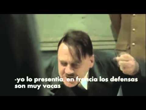 Hitler se entera que Falcao no va al mundial