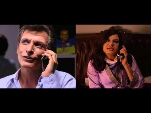 La divertida charla entre Cristina Kirchner y Mauricio Macri